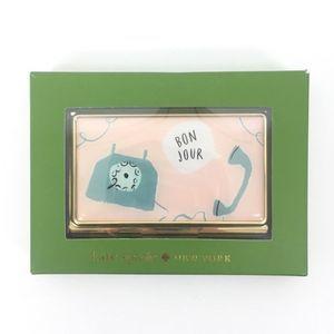 NEW Kate Spade Bonjour Business Cardholder
